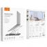 Универсальная настольная подставка для ноутбука Hoco PH37 Excellent Silver (6931474740151)