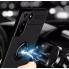 Чехол Deen на телефон Samsung Galaxy S21 с кольцом под магнитный держатель Черный