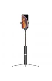 Селфи палка Usams US-ZB064 с Bluetooth подключениеи и пультом Черный