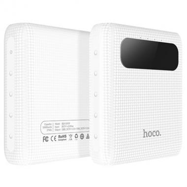 Повербанк HOCO B20 10000 mAh Белый