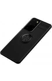 Чехол для Samsung Galaxy S21 Ultra Deen с магнитом для держателя Черный