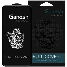 """Захисне скло на Айфон 11 Pro (5.8"""") Ganesh 3D Прозрачное"""