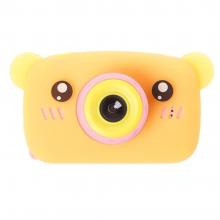 Детская фотокамера Baby Photo Camera Bear Оранжевый