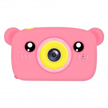 Дитяча фотокамера Baby Photo Camera Bear Розовый