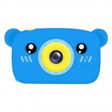 Детская фотокамера Baby Photo Camera Bear Синий