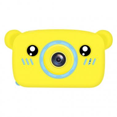 Детская фотокамера Baby Photo Camera Bear Желтый