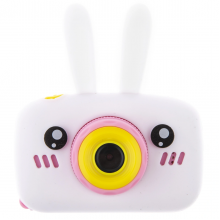 Детская фотокамера Baby Photo Camera Rabbit Белый