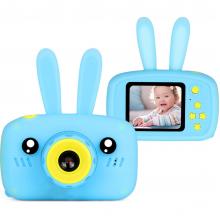 Детская фотокамера Baby Photo Camera Rabbit Голубой