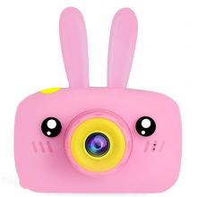 Детская фотокамера Baby Photo Camera Rabbit Розовый