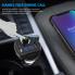 Автомобильный FM-передатчик с двумя портами USB CAR X19 Черная