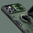 "Чехол на Айфон 12 Pro / 12 (6.1"") Nillkin с шторка на камеру Зеленый"