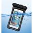 Водонепроницаемый чехол для телефона Oxo 4.0-5.5 дюйма Черный
