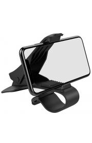 Держатель для телефона Hoco CA50 с зажимом Черный