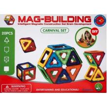 Магнитный конструктор Mag Building на 20 деталей