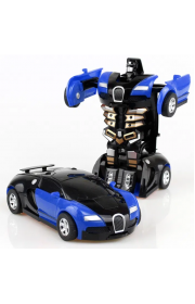 Машинка на пульте управления Robot Car Bugatti 1:14 радиоуправляемая машина на аккумуляторе Синий