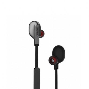 Вакуумные наушники беспроводные для телефона Remax S-18 Sports Black