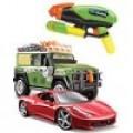 Машинки, модели техники и оружие