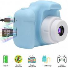 Детский фотоаппарат GM14 Аккумулятор: 220 мАч/5 В постоянного тока дисплей: 2 дюйма 100 градусов угол ЖК-дисплей экран