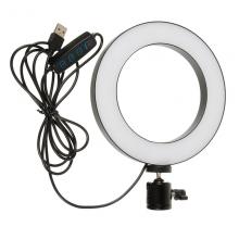Кольцевая лампа LiveStream 16см без держателя Черный