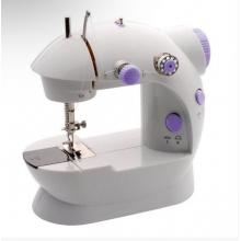 Портативная мини швейная машина с двумя регуляторами скорости Sewing machine 202 Белый