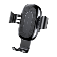 Автодержатель с БЗУ Baseus Wireless Charger Gravity Car Mount Air Outlet Version 1.67A 10W Черный
