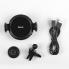 Автомобильный держатель с автозахватом телефона Hoco CA35 Lite  Черный
