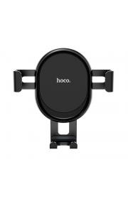 Автомобильный держатель с авто захватом телефона Hoco CA56 до 6 дюймов Черный
