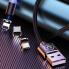 Кабели синхронизации Usams US-SJ438 U-Sure Magnetic 3in1 Combo (1m) Черный
