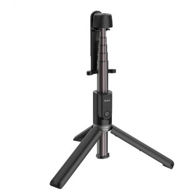 Монопод для селфи Hoco K11 с треногой + съемный BT пульт Черный