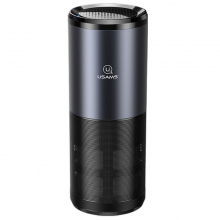 Портативный очиститель воздуха Usams US-ZB169 Черный / Серый