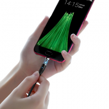 """Магнитный кабель Hoco U76 """"Fresh magnetic"""" MicroUSB (1.2m) Черный"""