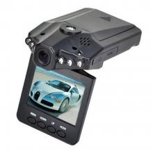 Видеорегистратор автомобильный DVR-027 HD (H-198) 1280×720 с микрофоном Черный