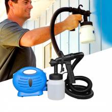 Краскопульт Профессиональный Paint Zoom (Пейнт зум) электрический распылитель краски сине-черный