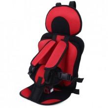 Детское бескаркасное автокресло UTM  предназначено для детей от 1 года до 9 лет  Красный