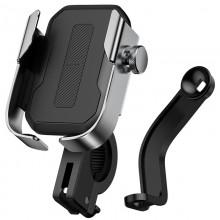 """Вело-Мото """"Надежный держатель для смартфона"""" Baseus Armor Motorcycle Чёрный"""