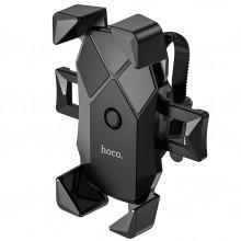Вело-Мото Надежный держатель для смартфона Hoco CA58 Light Ride Чёрный