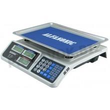 Торговые электронные весы с жидкокристаллический дисплей с подсветкой двухсторонний  Alfasonic AS-A072 до 50 кг