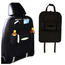 Органайзер для спинки сиденья автомобиля Vehicle mounted storage bag Black