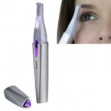 Женский триммер Finishing Touch Lumina A171 для удаления нежелательных волос на лице и теле Серебристый