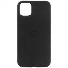 "TPU чехол Epik Textile Logo для Apple iPhone 11 Pro (5.8"") Черный"