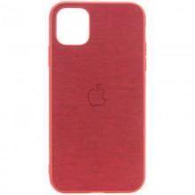 "TPU чехол Epik Textile Logo для Apple iPhone 11 Pro (5.8"") Красный"