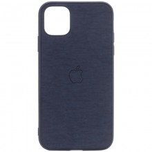 "TPU чехол Epik Textile Logo для Apple iPhone 11 Pro (5.8"") Синий"