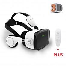 Очки Bobo виртуальной реальности VR Z4  для смартфона PLUS пультом + наушниками  White