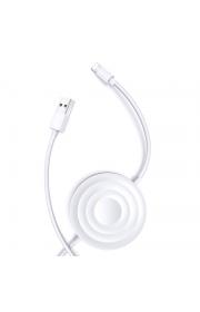 Беспроводная зарядное устройство для Apple Watch Usams US-CC096 с лайтинг кабель Белый