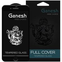 """Защитное стекло для Apple iPhone (Айфона) 7 / 8 / SE  Ganesh 3D (2020) (4.7"""") Черный"""
