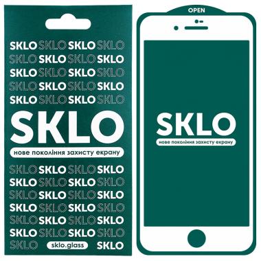 """Защитное стекло для Apple iPhone 7 / 8 / SE SKLO 5D (2020) (4.7"""") Белый"""