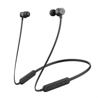 Вакуумные наушники беспроводные для телефона Hoco ES29 Graceful sports Black