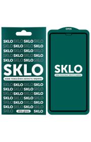 """Защитное стекло для Apple iPhone (Айфона) 12 mini  SKLO 5D (5.4"""") Черный"""