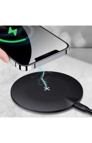 Беспроводное зарядное устройство Usams US-CD149 Fast Charge 15W (настольный) Черный